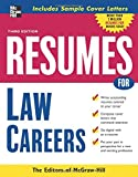 Resumes for Law Careers (McGraw-Hill Professional Resumes)