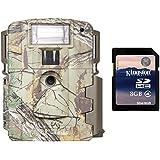 Moultrie Xenon Strobe White Flash D-80 Mini 14 MP Trail Game Camera + SD Card