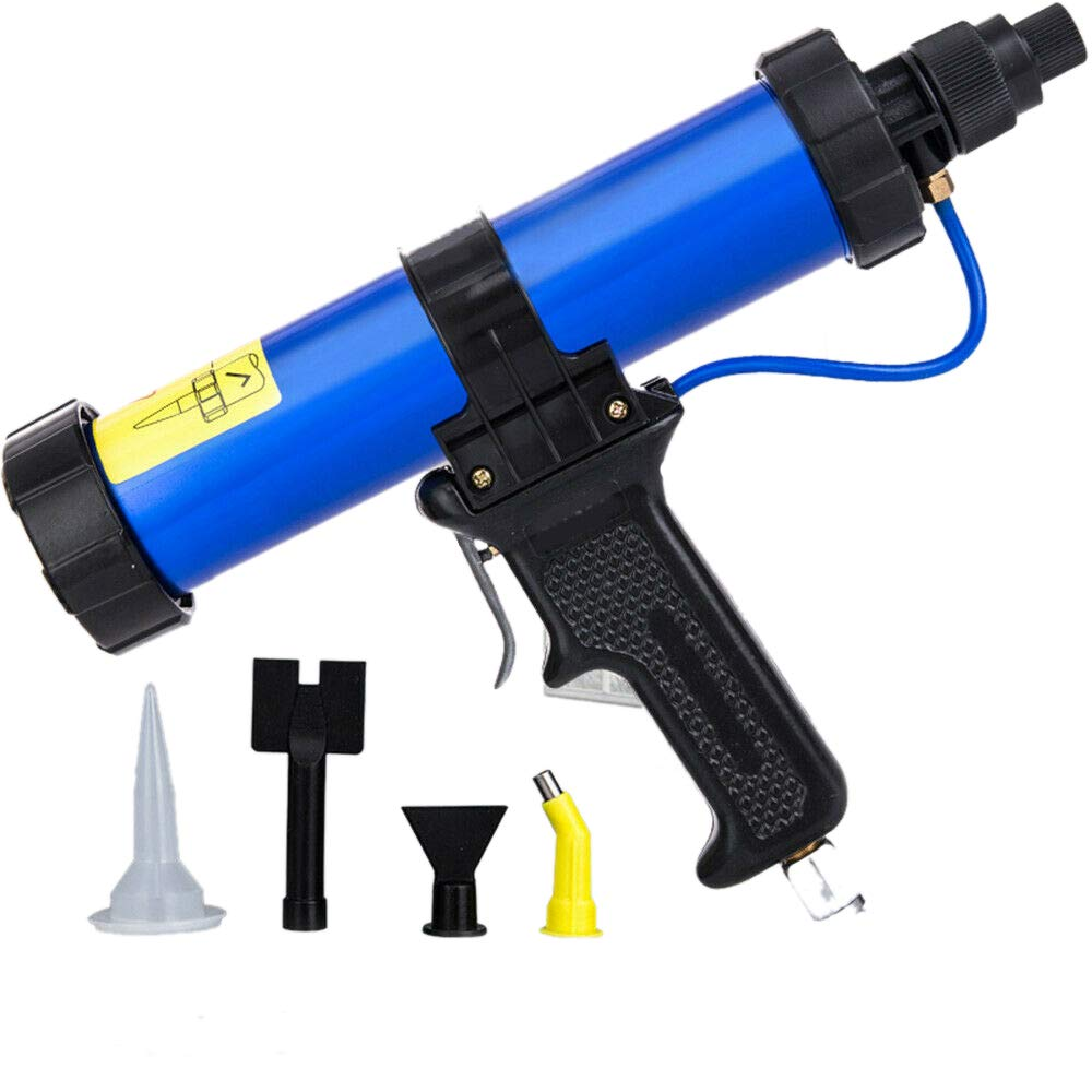 310ml Pneumatic Glass Glue Gun Silicone Gun Pneumatic Soft Glue Gun Wide Usage