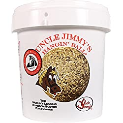 UNCLE JIMMYS BRAND HBSS Sweet/Salty Hanging Ball Treat for Horses