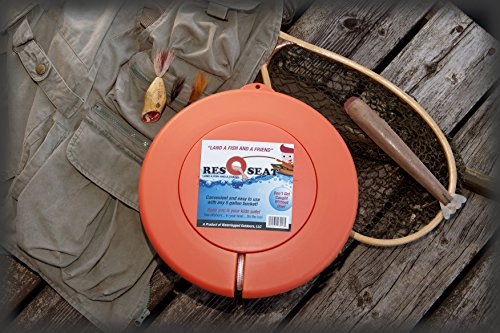 ResQseat Life Ring by Waterlogged Outdoors | Life Preserver Ring, Bucket Toilet Seat, Bucket Seat, Bucket Lid, Fishing Equipment + Tested and Proven + Fits as a 5gal Bucket Lid by Waterlogged Outdoors LLC (Image #3)