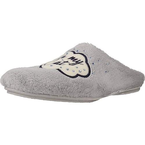 Zapatillas de Estar por casa de Mujer, Color Blanco, Marca VULLADI, Modelo Zapatillas De Estar por Casa De Mujer VULLADI 2641 123 Blanco: Amazon.es: Zapatos ...