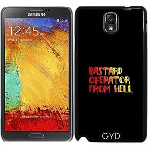 DesignedByIndependentArtists Funda para Samsung Galaxy Note 3 (GT-N9500) - Operador Bastardo Del Infierno by hera56