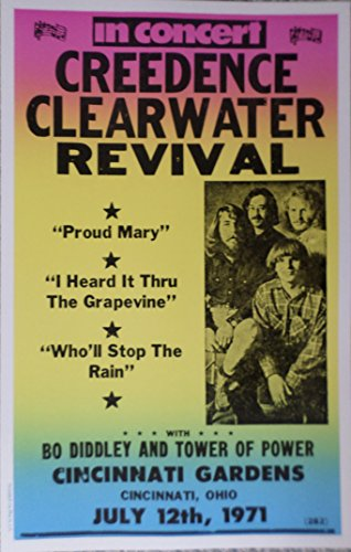 ccr band poster