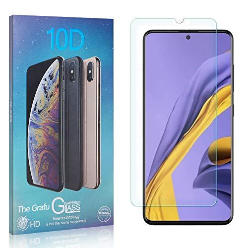The Grafu Displayschutzfolie für Galaxy A51, 3D Touch, Blasenfrei, 9H Ultra klar Schutzfolie aus Gehärtetem Glas Kompatibel mit Samsung Galaxy A51, 1 Stück