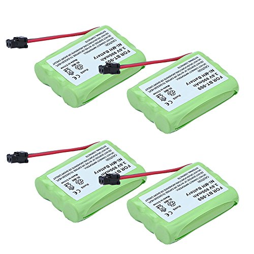 4 Pack Cordless Phone Battery for Uniden BT909 BT1001 - Empire Batteries Phone Cordless