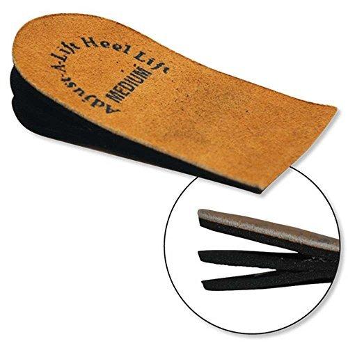 Orthopedic Heel Lift - Adjustable Heel Lift, Medium Heel Lift Insert - - Heel Leg