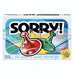 Feeling nostalgic for classic gameplay? Get ready for classic Parker Brothers gameplay with this Sorry! game. Who knows what will happen next as players chase their opponents around the board, trying to get their 4 pieces from start to home f...