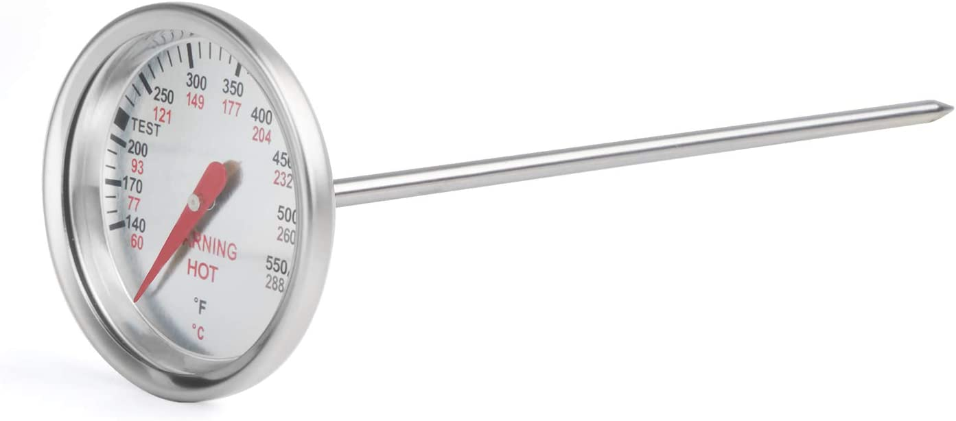 X Home Durable Thermometer Replacement for Weber Genesis Gold & Silver, 1000-5500 Grills, Accurate Temperature Gauge for Weber 9815 62538, Easy to Install