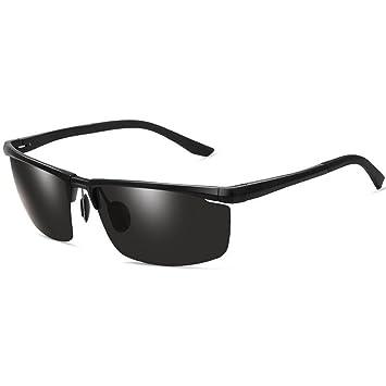 Gafas De Sol Polarizadas Al-Mg Para Hombre Gafas De Sol Para Conducir Gafas HD