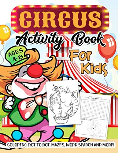 Circus Activity Book for Kids Ag...
