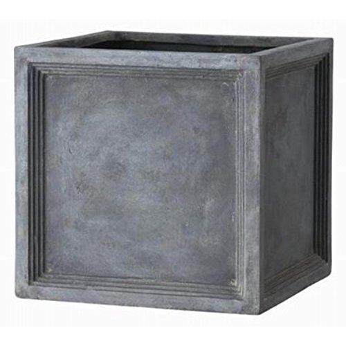 ファイバー製軽量植木鉢 LLブリティッシュ Pキューブ 56cm /植木鉢 生活用品 インテリア 雑貨 花 ガーデニング プランター top1-ds-1952087-ah [簡素パッケージ品] B076PJ4KZ1