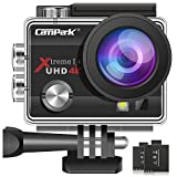Campark ACT74 Action Camera 4K 16MP...