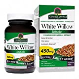 Nature'S Answer White Willow Bark, 60 - Vegetarian Capsules