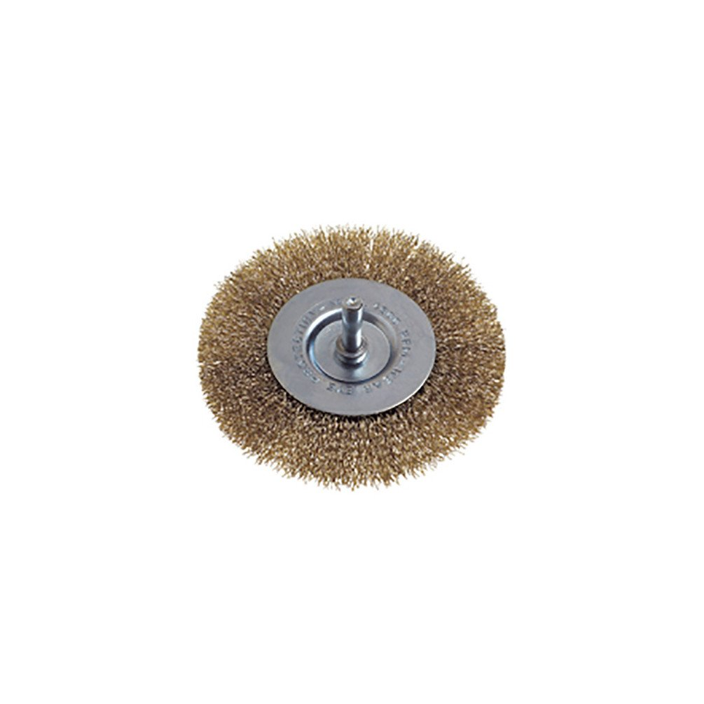 Osborn 2509164 End Brush Crimped of Steel Wire 0 V Silver