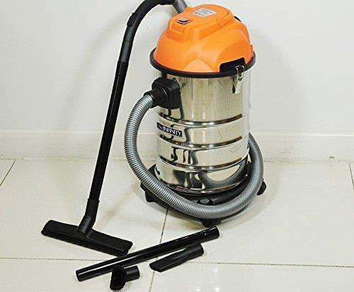 Wet Dry Vacuum Cleaner 30L Vac Industrial 1000W Stainless Steel Blow Function-3 Years FREE Guarantee!