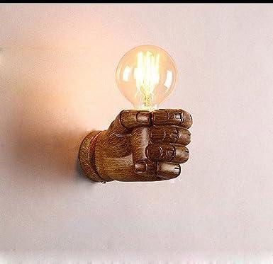 American creativo de arte de pared de engranajes de madera industrial light bar restaurante cafeter/ía galer/ía de antig/üedades personalizado apliques,C-42/×42cm