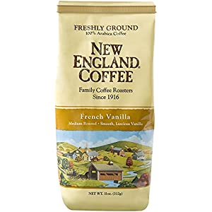 New England Coffee French Vanilla, 11 Ounce