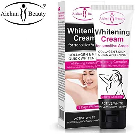 AICHUN BEAUTY Whitening Cream Natural Underarm Lightening & Brightening Deodorant Cream Armpit Whitening Body Creams Underarm Repair Between Legs Knees Private Part 50g