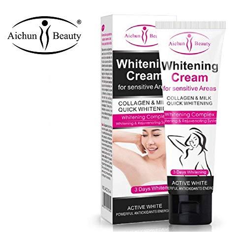AICHUN BEAUTY Whitening Cream for Dark Skin Armpit Elbow Lightening Bikini Underarm Thigh 50g Best Gift for Women Beauty Skin Care