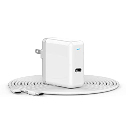 Amazon.com: Cargador USB C para iPad Pro 2018, MacBook 12 ...