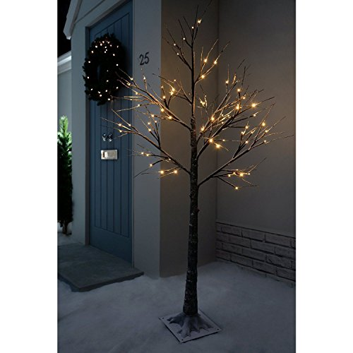 Jaymark Products Christmas Tree, 6ft, Brown (Tree Christmas Black Down Upside)