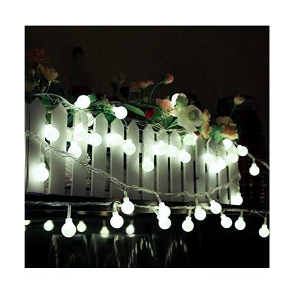 JP-LED Catena Luminosa Di Luci Led 13M【filo di 100 lampadine 10M e Cavo Di Prolunga 3M】Luci Da Esterno E Interno Con 8 Modalità Flash. Per Giardino, Casa, Feste, Natale, Matrimonio, Decorazioni 4 spesavip