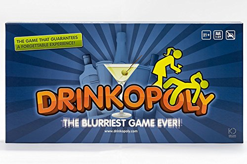 Drinkopoly The blurriest game ever! by Drinkopoly