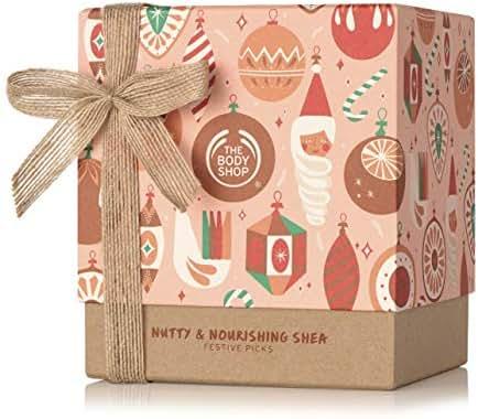 The Body Shop Shea Gift Set, Made With Community Trade Shea Butter, Great for Nourishing & Moisturizing Dry Skin, 5Piece