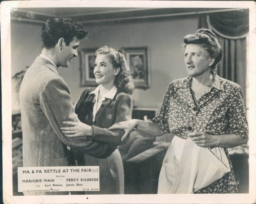 MA AND PA KETTLE AT THE FAIR LORI NELSON LOBBY CARD (Ma And Pa Kettle At The Fair)