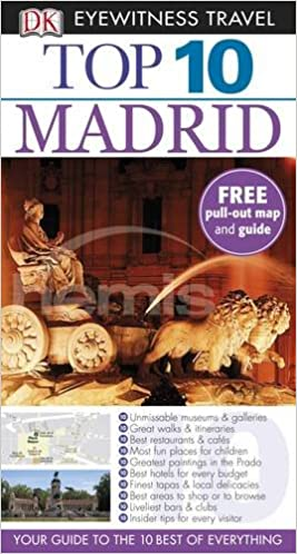 DK Eyewitness Top 10 Travel Guide: Madrid