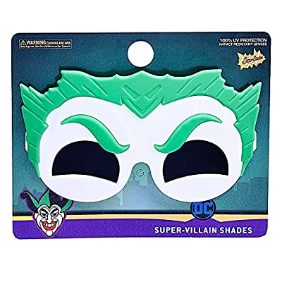 Sun-Staches Costume Sunglasses Lil' Characters Dark Shade Joker Party Favors UV400: Toys & Games