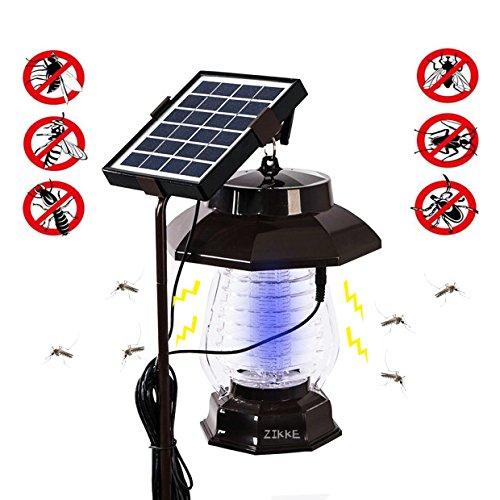 Solar Bug Zapper Garden Light