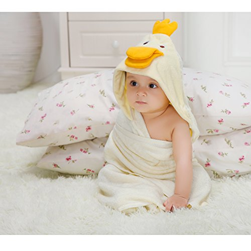 Baby Absorbent Back Towel (Owl) - 9