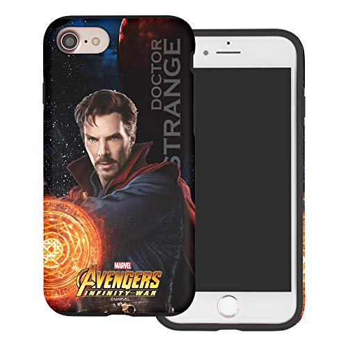 iPhone SE/iPhone 5S / iPhone 5 Case Marvel Avengers Layered Hybrid [TPU + PC] Bumper Cover for [ iPhone SE / 5S / 5 ] Case - Infinity War Doctor Strange