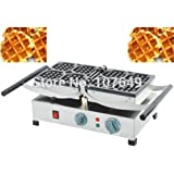 Hot Sale 110V/220V Commercial Use Non-stick Electric Belgian Waffle Liege Maker Iron