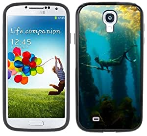 Spear Fishing Spearfishing Handmade Samsung Galaxy S4 Black Bumper Hard Plastic Case by icecream design