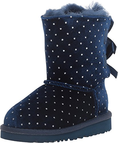 Ugg Kid's Bailey Bow Starlight Boot (9 Toddler M, Navy)