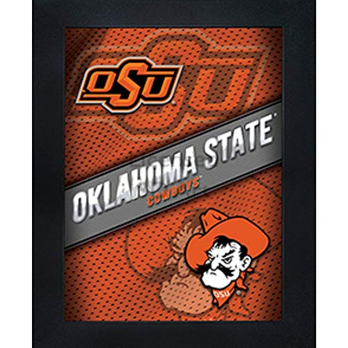 (Oklahoma State Cowboys 3D Poster Wall Art Decor Framed Print | 14.5x18.5 | OSU Lenticular Posters & Pictures | Gifts for Guys & Girls College Dorm Room | NCAA Sports Team Fan Pistol Pete Logo & Mascot)