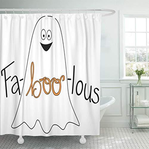 Emvency Shower Curtain Sets Waterproof 66