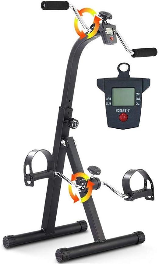 Negro, con un pedal manual Ejercitador médico Ejercicios de ...