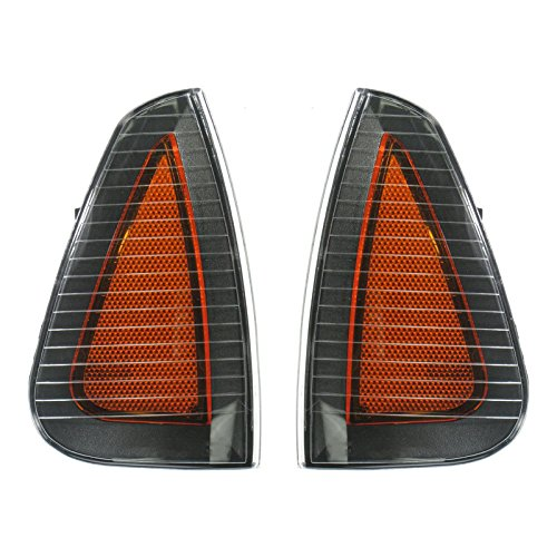 Side Marker Parking Turn Signal Corner Lights Pair Set for 06-10 Charger