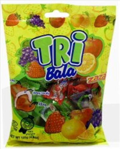 Tribala Assorted Chewy Filled Candy (Small) Pack of 3