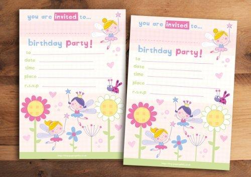 20 invitaciones para fiesta de cumpleaños infantil, diseño de ...