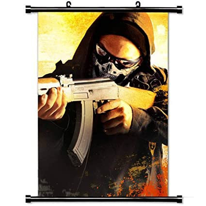 Amazon com: Gaming Poster with Counter Strike Global