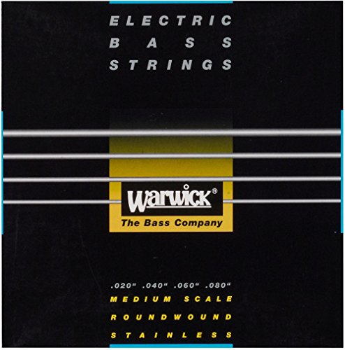 Warwick Black Label 4-String Piccolo Nickel Bass (Piccolo Bass Strings)
