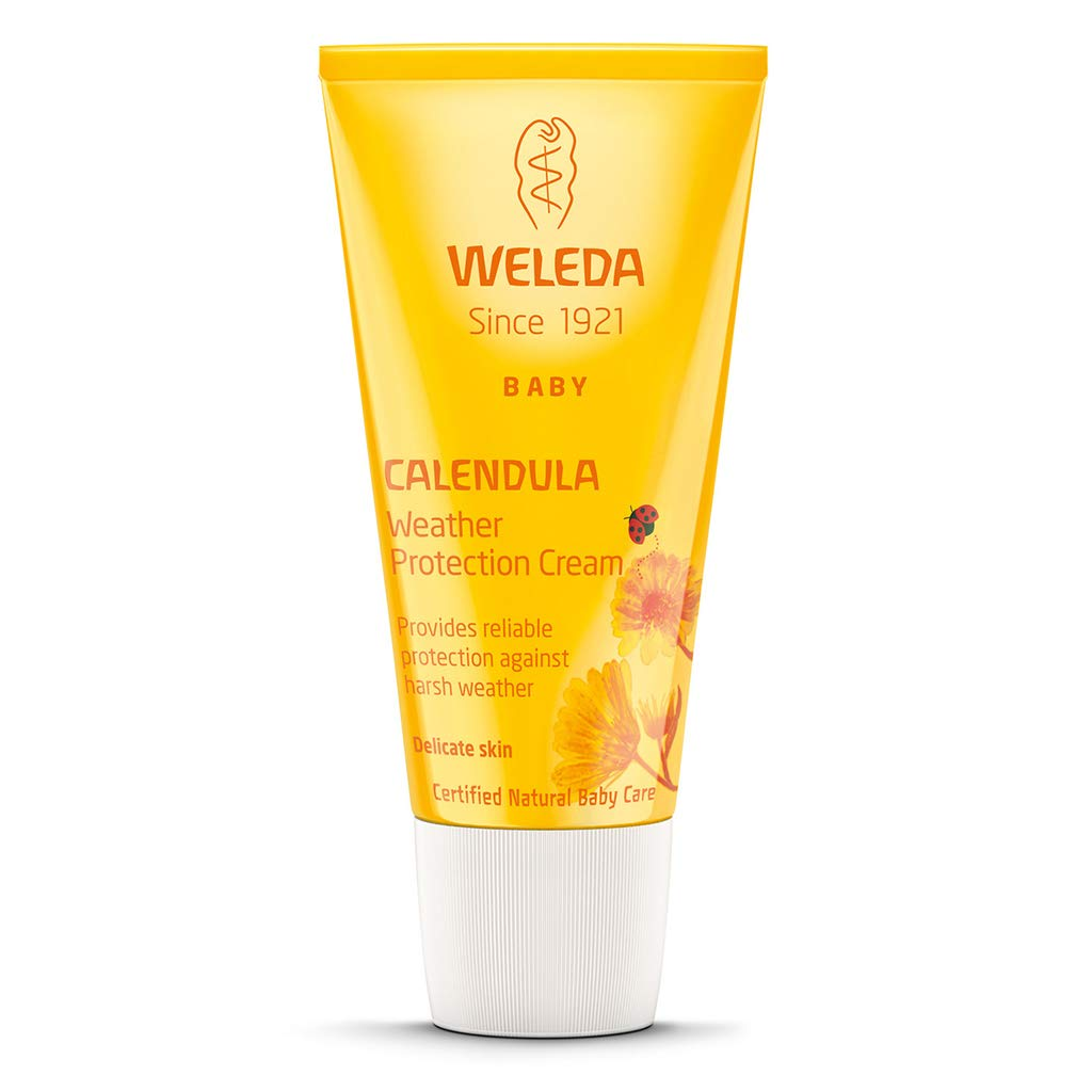 Weleda Baby Calendula Weather Protection Cream (30ml) - Pack of 6