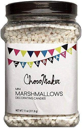 ChocoMaker Mini Marshmallow Candy Bulk Jar