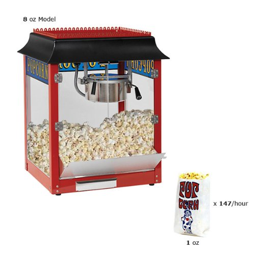 Paragon 1911 Originals 6-Ounce Antique Popper Popcorn Machine