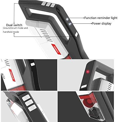 Aspirateur sans fil sans fil de ménage Aspirateur Petit type silencieux puissant Aspirateur portatif sans fil 1140X267X230mm aspirateur à main puissant
